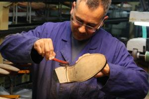 Rahmengenähte Schuhe- Werkstatt